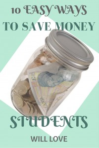 easy ways to save money - for students