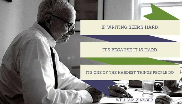 WILLIAM ZINSSER quote