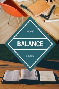 work and study balance
