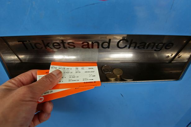 split train tickets