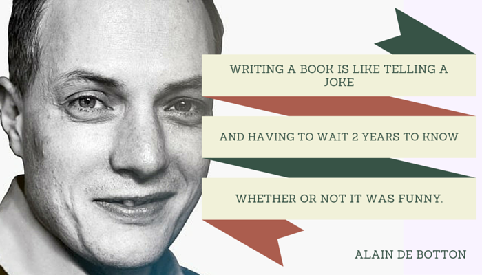 Alain De Botton quote