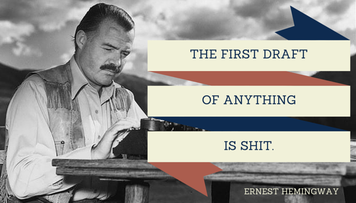 Citaten Hemingway : The daily routine of great writers. get inspired by their true to